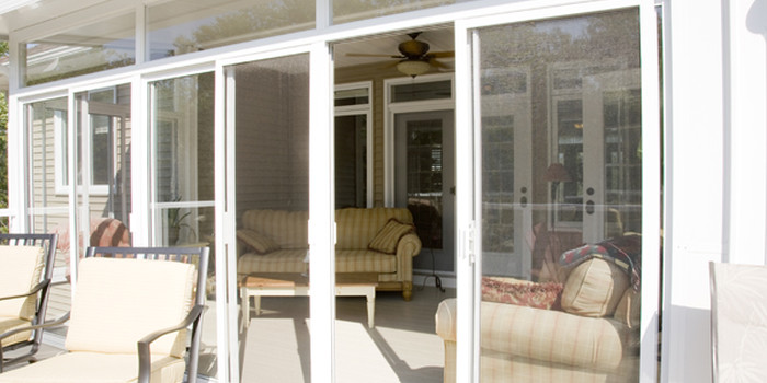 sunroom deck