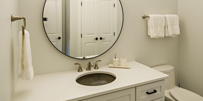 SawlorBuiltHomes Halifax CustomHome51 LowerLevelBathroom2